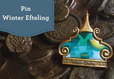 Nieuwe Winter Efteling pin